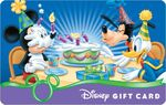 Happy Birthday Disney Gift Card Mickey Goofy and Donald