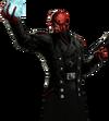 Red Skull Portrait Art