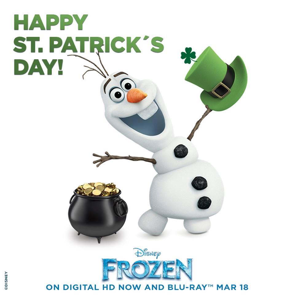 Image frozen st patrick 39 s day disney wiki - Disney st patricks day images ...