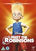 Meet the Robinsons UK DVD 2014 Limited Edition slip cover
