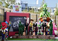 SHDR Toy Story Land Groundbreaking