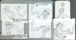 The Jungle Book Kaa the python model sheet 01