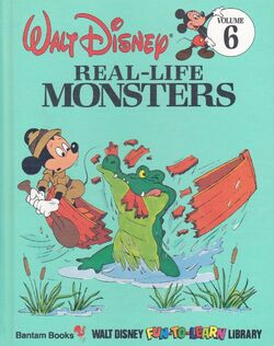 936full-walt-disney's-real--life-monsters-(fun--to--learn-library-volume-6)-cover