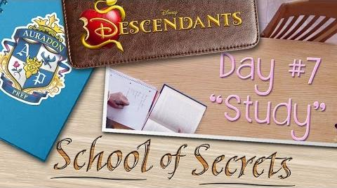 Day 7 Study School of Secrets Disney Descendants