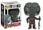 Funko Pop SW Celebration Exclusive 4-LOM