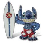 Surfin' Stitch Jeweled Figurine by Arribas
