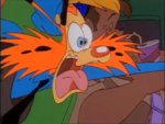 Calling All Cars - Bonkers's scared face