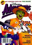 Disney adventures magazine cover august 1994 the mask