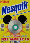 1999-Nesquick-Disney-CD-Sampler-front--3-