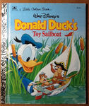 Donald Duck's Toy Sailboat
