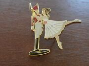 Tin Solider and Ballerina Pin