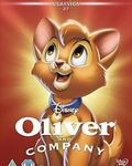 Oliver and Company DVD Cover