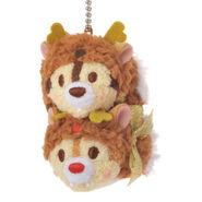 Chip and Dale Christmas Tsum Tsum Keychain