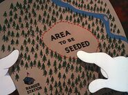 Area to be seeded