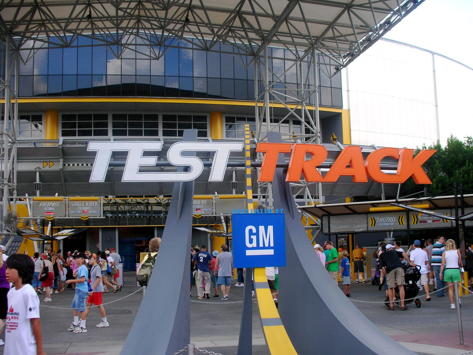 Test Track Disney Wiki Fandom Powered By Wikia
