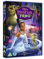 The Princess and the Frog UK DVD 2014