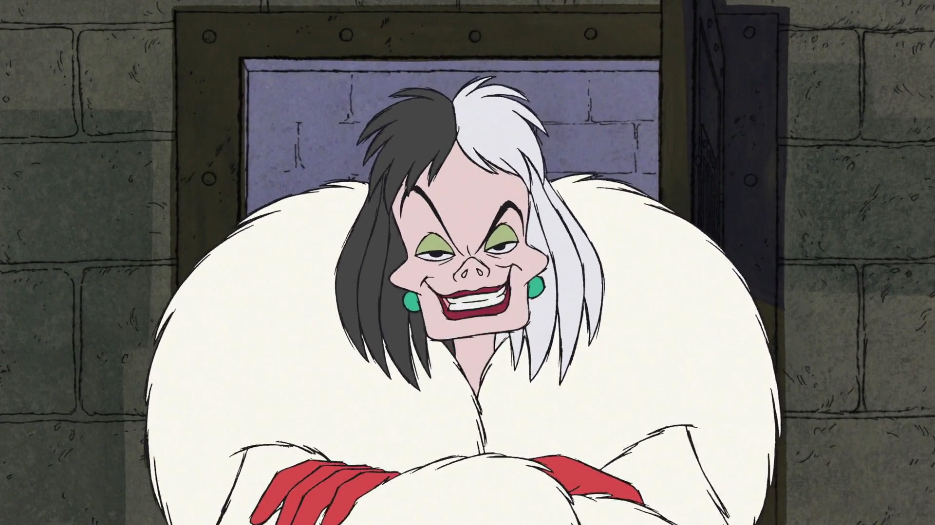 Image result for cruella de vil animated