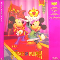The Prince and the Pauper Laserdisc