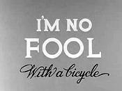 Fool bike