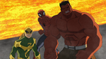 Spider-Man Red Hulk Iron Fist USMWW