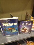 Two Disney DVDs