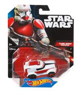 Shock Trooper Hot Wheels