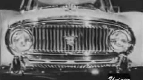 1955 Nash Ambassador And Statesman Jiminy Cricket Commercial