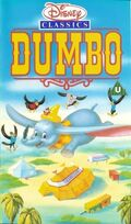 Dumbo UK VHS Cover