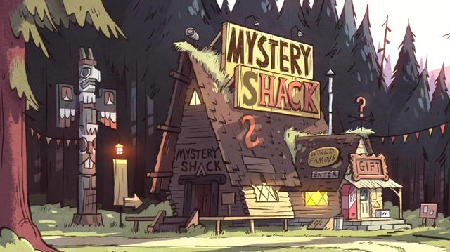 The mystery shack disney wiki fandom powered by wikia