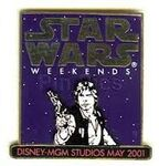 Star Wars Weenends Pin 2001