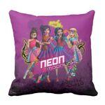 Neon moonlight pillow
