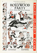 Mickey Mouse from Hollywood Party 1934 Print Ad