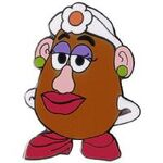 Mrs. Potato Head Pin