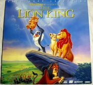 The lion king laserdisc