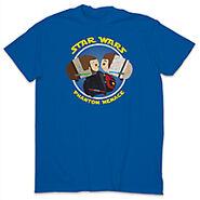 Phantom Menace Tsum Tsum T Shirt Blue