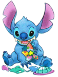 Stitch Deep Space Charm Artwork