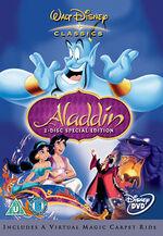 Aladdin SE 2004 UK DVD