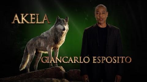 Giancarlo Esposito is Akela - Disney's The Jungle Book