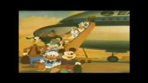 Eastern airlines disney commercial