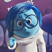 Sadness at the Inside Out premiere