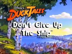 Don'tGiveUptheShip - 01