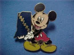 Indiana mickey Pin