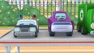 Officer pete purple truck