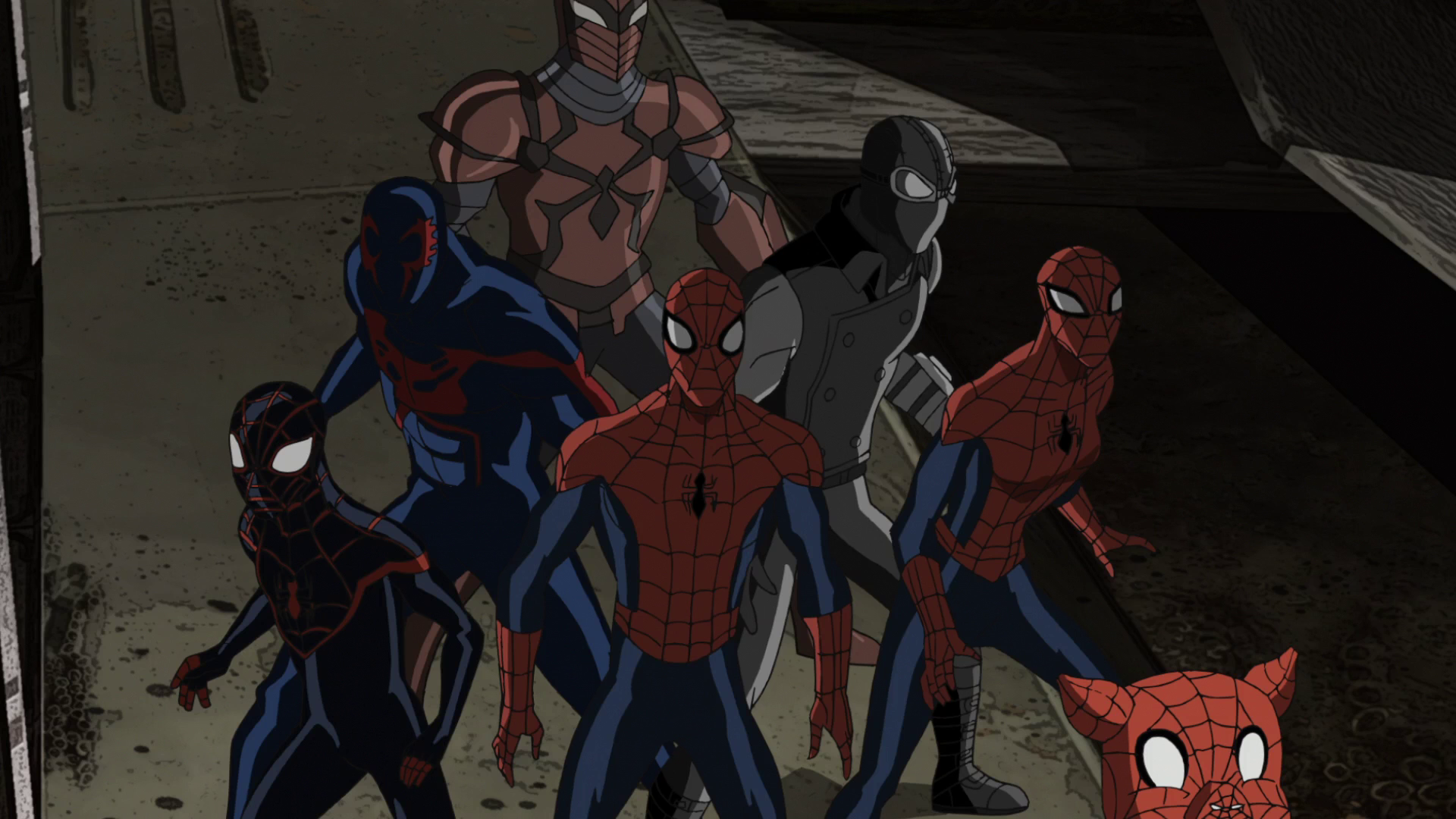 Image  Spider Man And The Web Warriors USMWW 1png