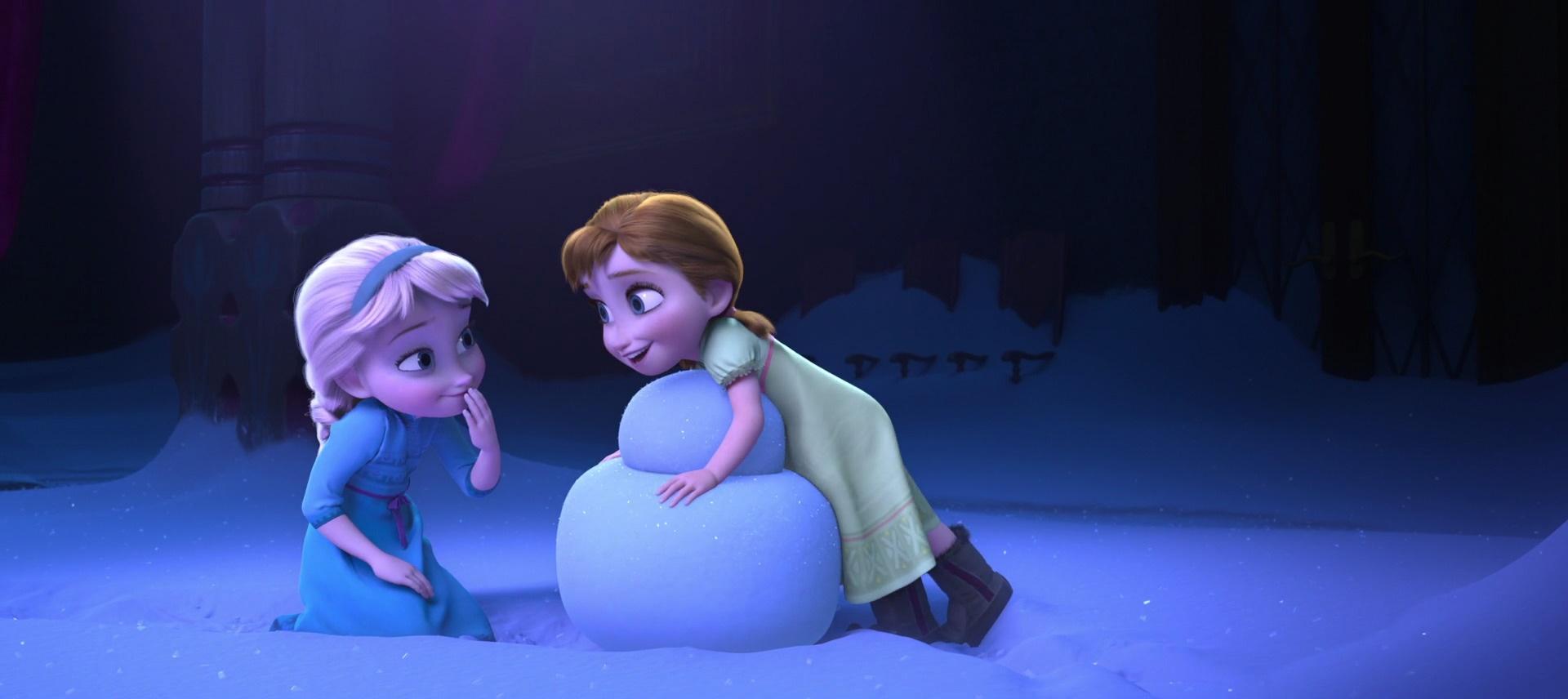 Frozen Anna And Elsa Little