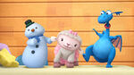 Chilly, lambie and stuffy