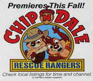 Chip N' dale premiere's this fall!