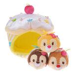 Chip Dale Clarice Valentines Tsum Tsum Cupcake