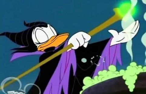 File:Daisy Duck as Maleficent.jpg