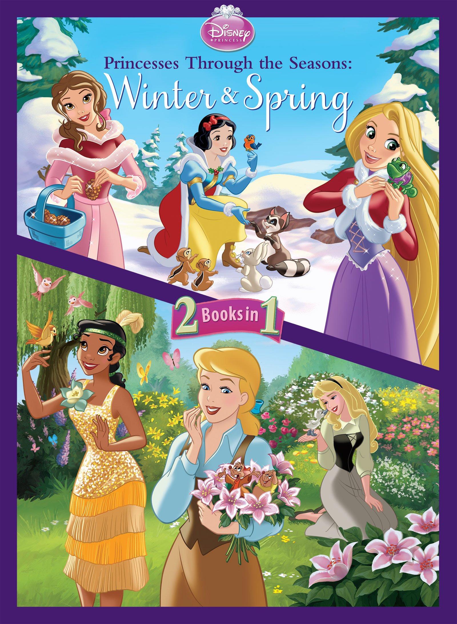 Disney Princess Princesses Through The Seasons Disney